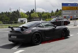 porsche cayman 2015 gt4 porsche cayman gt4 is being tested at the nurburgring