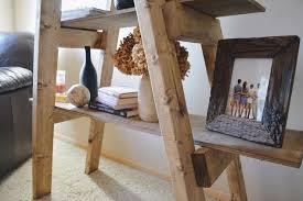 Diy Ladder Bookshelf Diy Ladder Shelf Hometalk