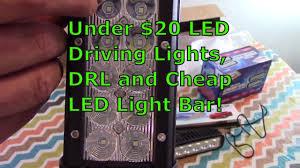 Led Light Bar Driving Lights by Under 20 Led Driving Lights Drl And Cheap Led Light Bar Cheap
