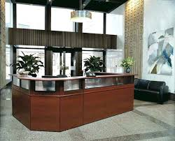 Office Front Desk Furniture Stunning Office Reception Furniture For Boosting The