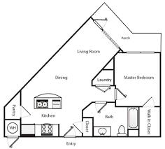 Triangle Floor Plan by Barnbeck Place Floor Plans Brt General Corporation