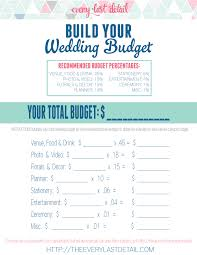 wedding budget create a wedding how to create a wedding budget every last detail