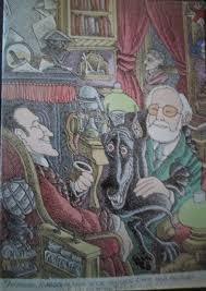 one sherlockian s card tradition i hear of sherlock