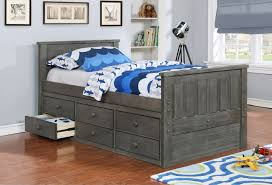 Kids Beds With Storage Bedroom Twin Captains Bed With Storage Girls Twin Daybed Full