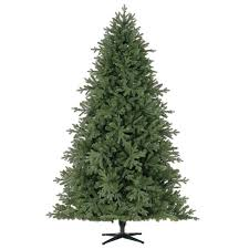7 5 ft pre lit hinged spruce artificial