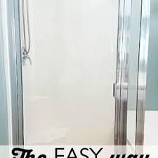 Best Glass Shower Door Cleaner Best Way To Clean Glass Shower Doors Garage New Cleaner For Decor