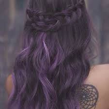 shag haircut brown hair with lavender grey streaks 20 best pantone blues violet grey silver hair images on