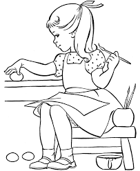 cool coloring pages for girls painting easter eggs easter egg coloring pages coloring