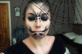 halloween eye makeup spider web halloween spider makeup tutorial youtube