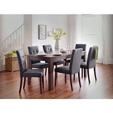 Walnut Dining Table And  Chairs - Walnut dining room chairs