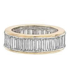baguette ring diamond baguette eternity band ring at 1stdibs