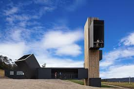 shipping container wine tasting centre in tasmania gateway