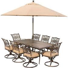 8 9 person patio dining furniture patio furniture the home depot
