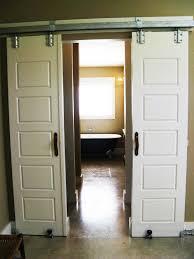 bathroom 2017 interior sliding barn doors for homes then sliding