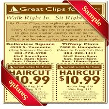 haircut specials at great clips great clips printable coupon december 2016 coupons and printable