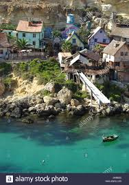popeye village malta island mediteran sea europe movie