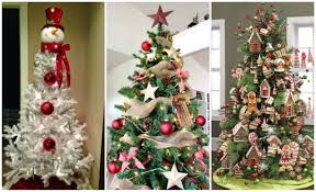 ideas for decorated christmas trees amazing home design cool under