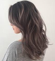 highlights to hide white hair 40 ideas of gray and silver highlights on brown hair
