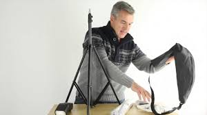 home photography lighting kit really cheap but great portable lighting kit youtube