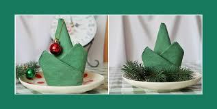 weihnachtsservietten falten servietten falten weihnachten weihnachtsdeko cool