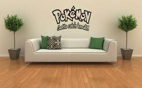 pokemon wall decals 2017 grasscloth wallpaper pokemon wall mural vinyl decal sticker kids room s 106