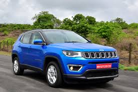 jeep compass limited blue jeep compass bookings touch 10 000 mark ranjangaon plant paces up