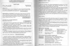 Resume Header Samples Two Page Resume Format Learnhowtoloseweight Net