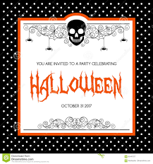 halloween invitation templates free virtren com