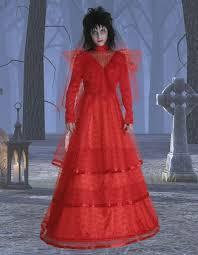 lydia beetlejuice wedding dress beetlejuice costumes halloweencostumes com
