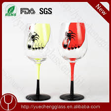 martini glasses clinking hand painted wine glasses for wholesale hand painted wine glasses