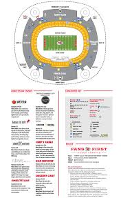 Royals Stadium Map Stadium Maps Chiefs Com