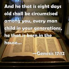 Stranger In The House by Genesis 17 12 And He That Is Eight Days Old Shall Be Circumcised