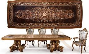 Luxury Dining Furniture Masterpiece Collection - Luxury dining room furniture