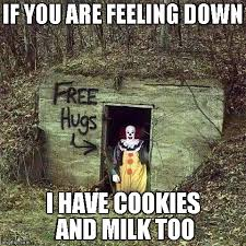 Feeling Down Meme - sad clown memes imgflip