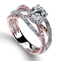 Rose Gold Wedding Rings For Women by Beautiful Wedding Rings For Women Rose Gold And Silver