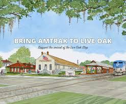 Amtrak Map East Coast by Bring Amtrak To Live Oak All Aboard Live Oak