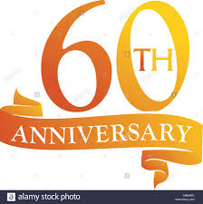 60 years anniversary template logo 60 years anniversary stock photos template logo 60
