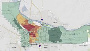 Portland Oregon County Map by How Do Your Property Taxes Compare To Your Neighbors U0027 Multnomah