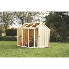 Outdoor Shed Kits by 2x4 Basics Peak Roof Style Shed Kit 90192mi Do It Best