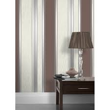 vymura synergy striped wallpaper brown silver white m0802