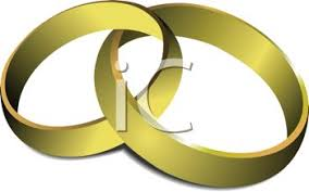 intertwined wedding rings intertwined gold wedding rings royalty free clip illustration