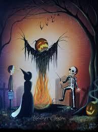 halloween artist heather gleason my eclectic mind