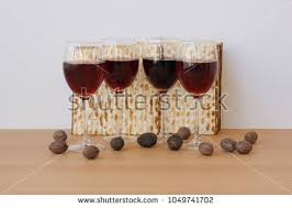 passover 4 cups 4 passover glasses of wine stock images royalty free images