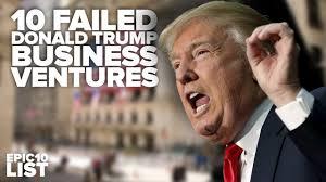 donald trump business failures template idea
