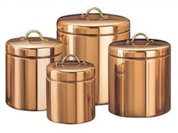 copper kitchen accessories elegant kitchen canisters copper