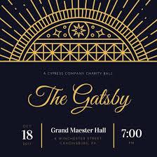gatsby invitations customize 65 great gatsby invitation templates online canva