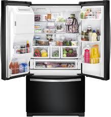 Whirlpool Inch French Door Refrigerator - whirlpool wrf757sdee 36 inch french door refrigerator with 26 8 cu