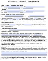 13 best images of free download residential lease agreement