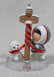hallmark keepsake ornament grandson polar in snow