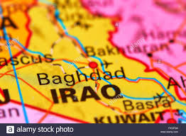 Baghdad World Map by Baghdad Capital City Of Iraq In The Middle East On The World Map